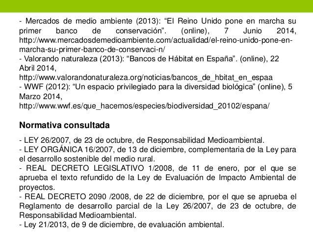 Los bancos de h bitats como instrumentos de compensaci n for Habitat rural en algerie pdf