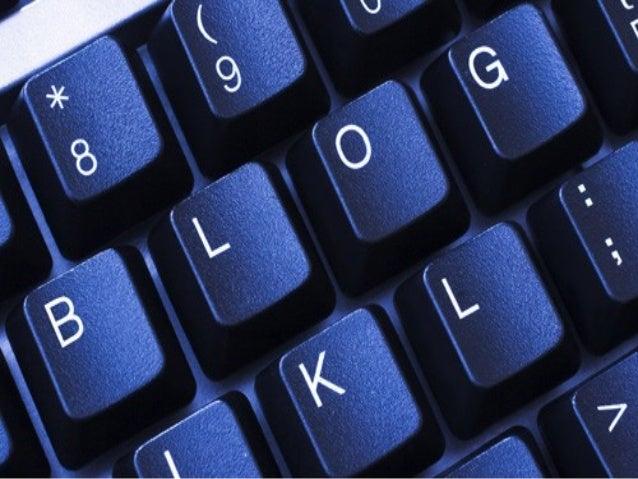 Indice • ¿Que es un blog? • ¿ Para que sirven los blogs? • Características de los blogs – Colaborativos – Definibles – Int...
