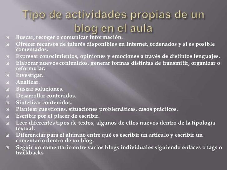 Los blogs en la educación Slide 2