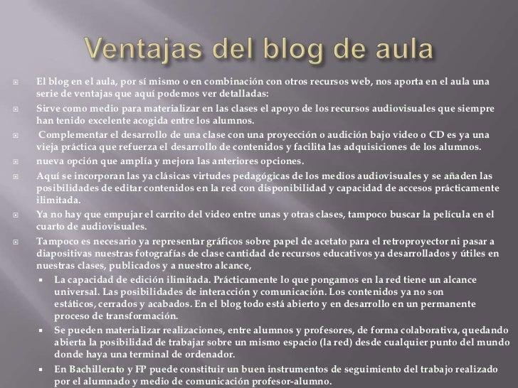 Los blogs en la educación Slide 3