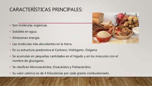 Mite Nury: Los carbohidratos Slide 3