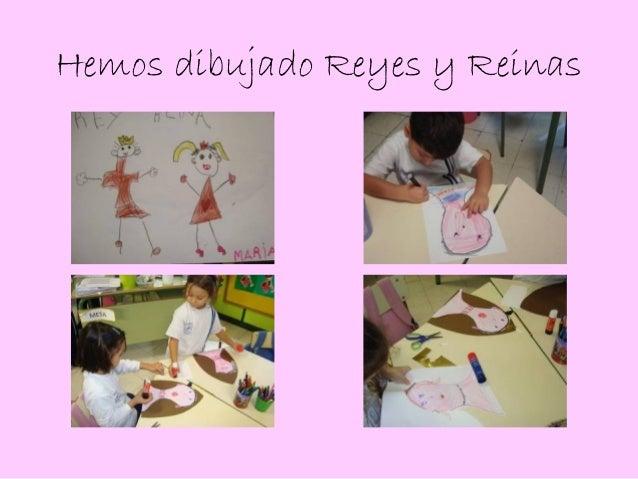 Hemos dibujado Reyes y Reinas