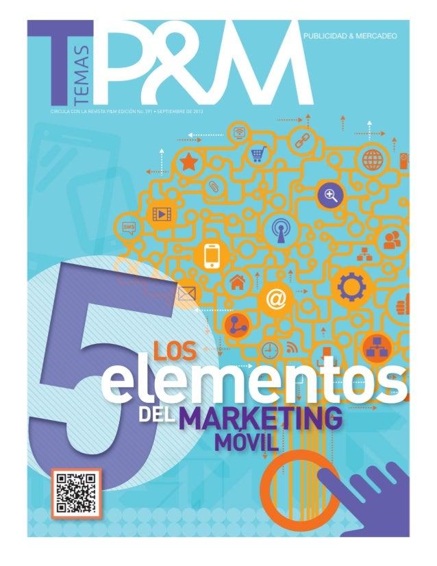 Los cinco elementos del marketing móvil
