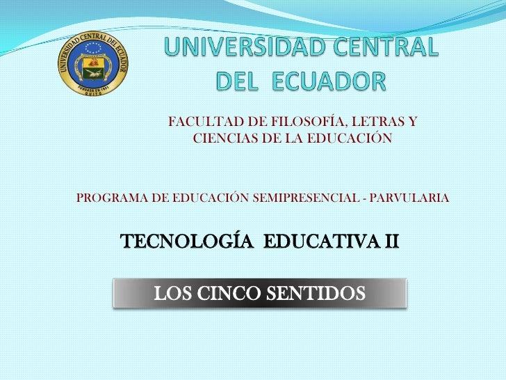 FACULTAD DE FILOSOFÍA, LETRAS Y               CIENCIAS DE LA EDUCACIÓNPROGRAMA DE EDUCACIÓN SEMIPRESENCIAL - PARVULARIA   ...