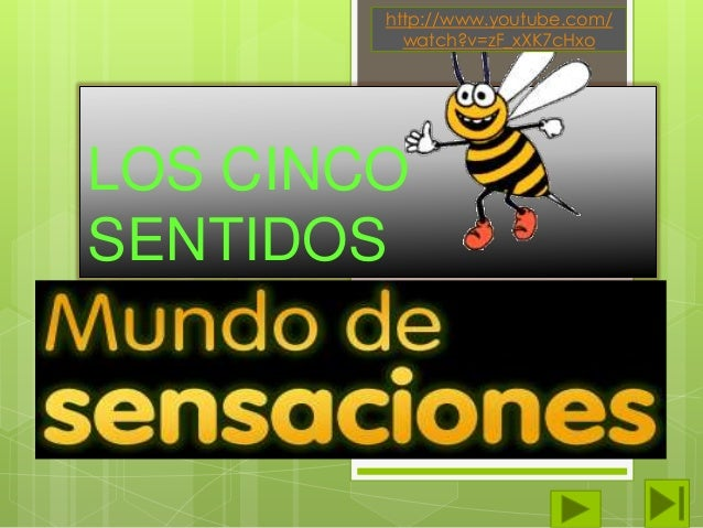 http://www.youtube.com/ watch?v=zF_xXK7cHxo  LOS CINCO SENTIDOS