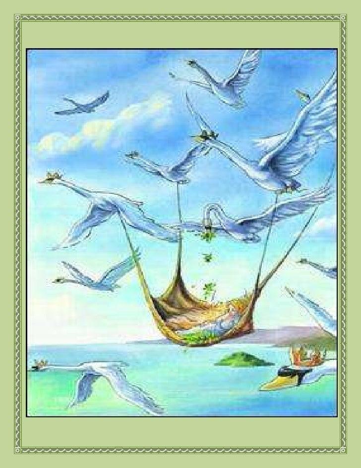 99695584200<br />Los cisnes salvajes<br />Hace muchísimos años vivía un rey que tenía once hijos y una hija llamada Elisa....