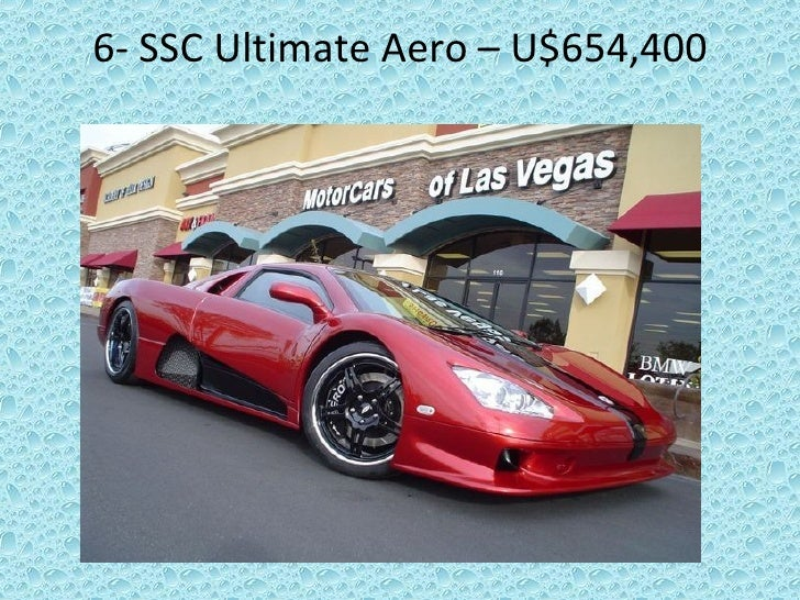6-  SSC Ultimate Aero – U$654,400