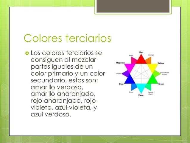 Los colores primarios secundarios terciarios degradado for Cuales son los colores minimalistas