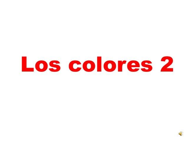 Los colores 2