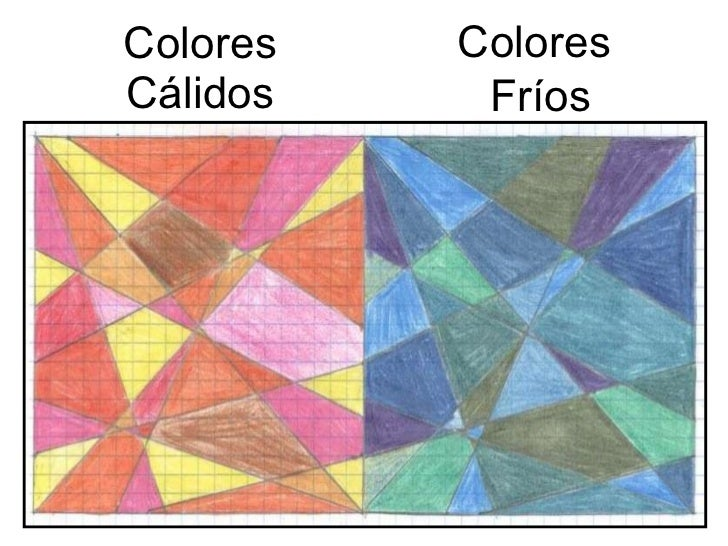 Los colores fr os y c lidos - Paisaje con colores calidos ...