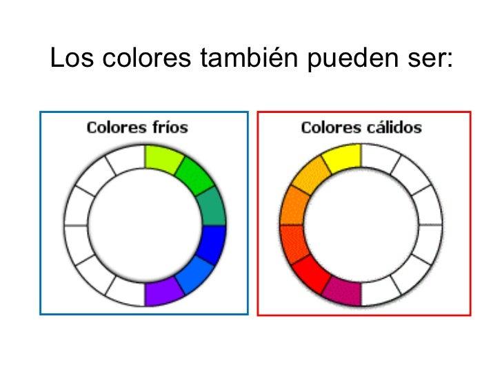 Los colores fr os y c lidos - Colores frios y colores calidos ...