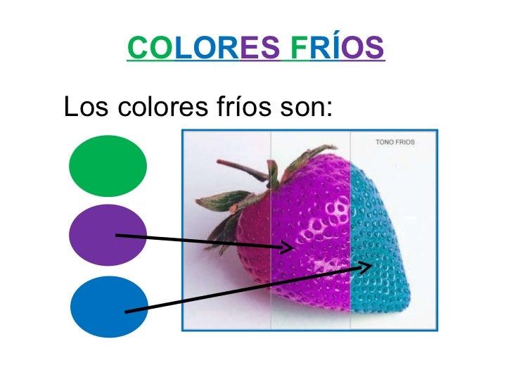 Los colores fr os y c lidos - Imagenes de colores calidos ...