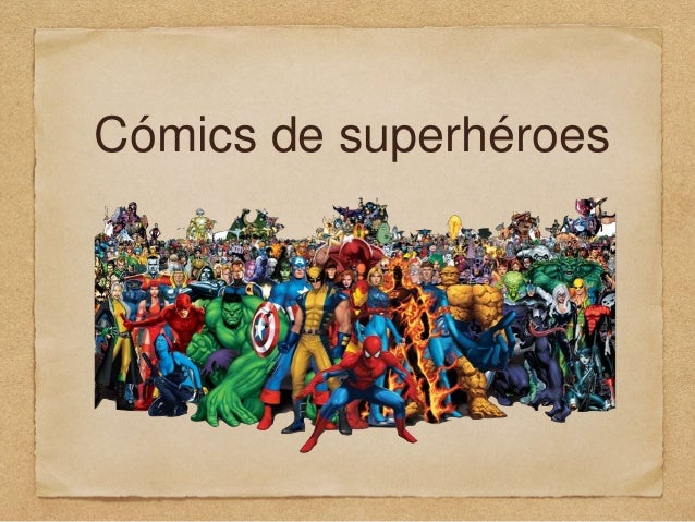 Cómics de superhéroes