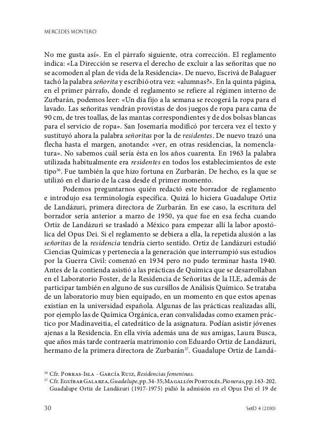 MERCEDES MONTERO 30  SetD 4 (2010) No me gusta así». En el párrafo siguiente, otra corrección. El reglamento indica: «La ...