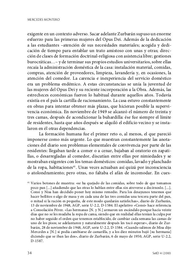 MERCEDES MONTERO 34  SetD 4 (2010) exigente en un contexto adverso. Sacar adelante Zurbarán supuso un enorme esfuerzo par...