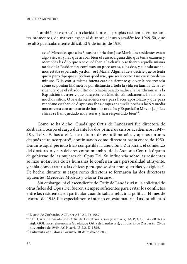 MERCEDES MONTERO 36  SetD 4 (2010) También se expresó con claridad ante las propias residentes en bastan- tes momentos, d...