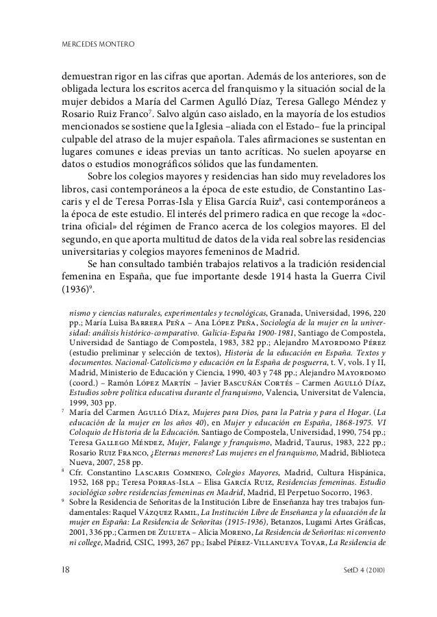 MERCEDES MONTERO 18  SetD 4 (2010) demuestran rigor en las cifras que aportan. Además de los anteriores, son de obligada ...