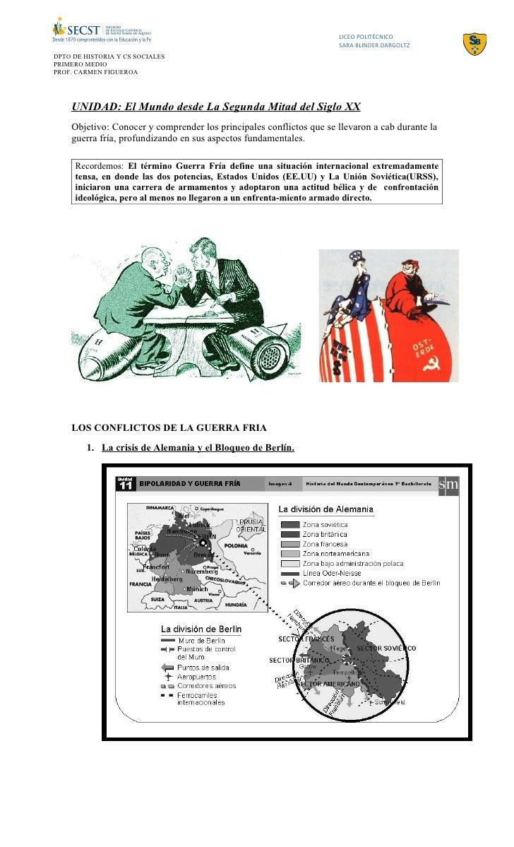 LICEO POLITÉCNICO                                                                     SARA BLINDER DARGOLTZDPTO DE HISTORI...