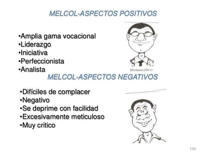MELCOL-ASPECTOS POSITIVOS•Amplia gama vocacional•Liderazgo•Iniciativa•Perfeccionista•Analista           MELCOL-ASPECTOS NE...