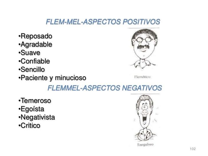 FLEM-MEL-ASPECTOS POSITIVOS•Reposado•Agradable•Suave•Confiable•Sencillo•Paciente y minucioso          FLEMMEL-ASPECTOS NEG...