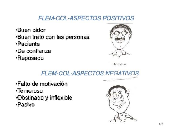 FLEM-COL-ASPECTOS POSITIVOS•Buen oidor•Buen trato con las personas•Paciente•De confianza•Reposado          FLEM-COL-ASPECT...