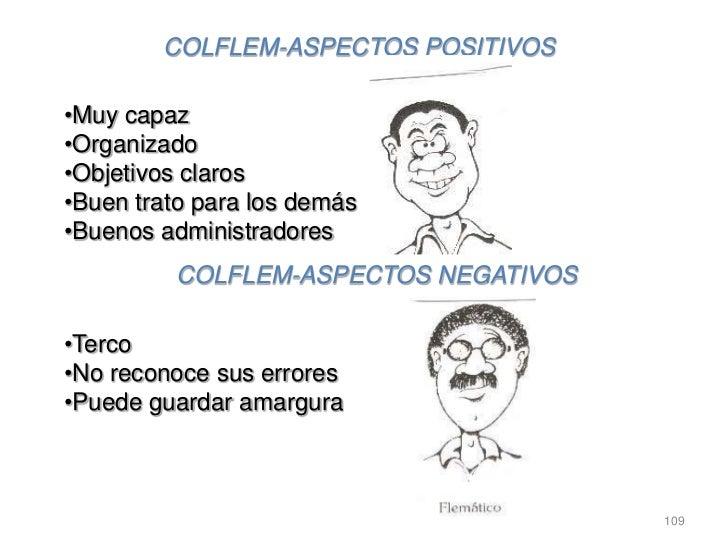 COLFLEM-ASPECTOS POSITIVOS•Muy capaz•Organizado•Objetivos claros•Buen trato para los demás•Buenos administradores         ...