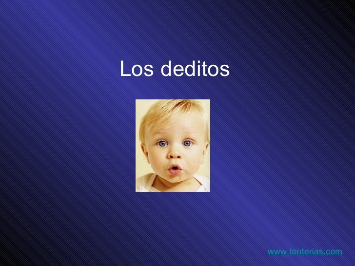 Los deditos www.tonterias.com