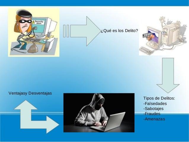 Los delitos informaticos Slide 2