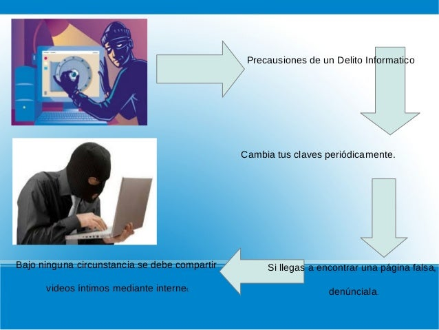 Los delitos informaticos Slide 3
