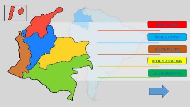 Los departamentos de colombia sabia