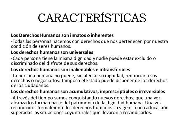 Los derechos humanos pp for Caracteristicas de la oficina wikipedia