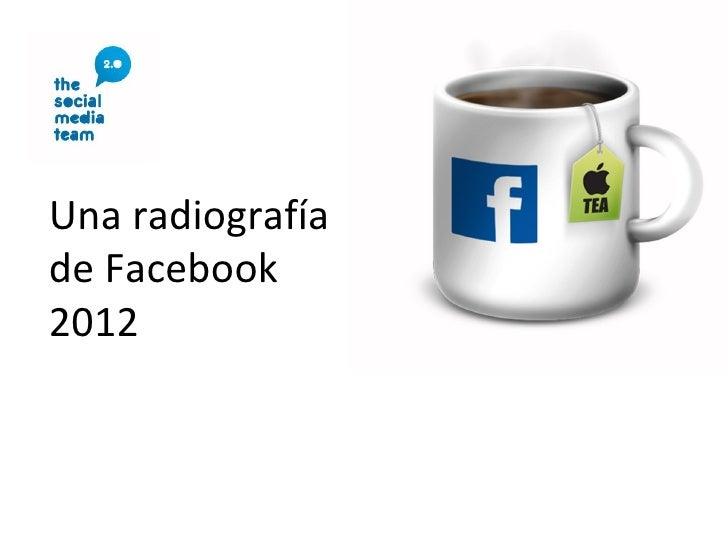 Una radiografíade Facebook2012