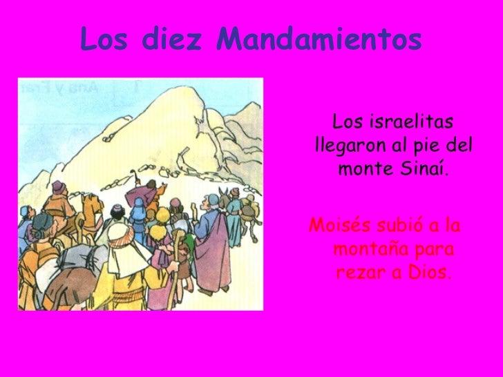 Los Diez Mandamientos Slide 2