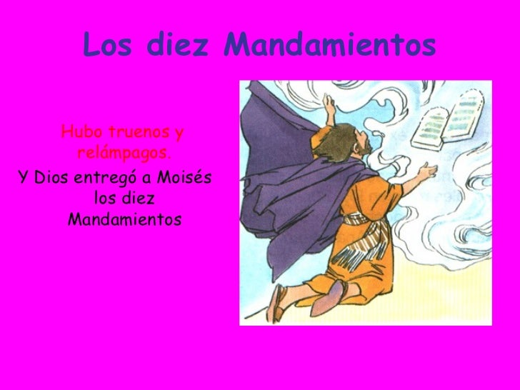 Los Diez Mandamientos Slide 3