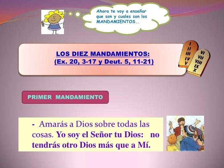 SEGUNDO MANDAMIENTO<br />- No tomarás en vano  el    Nombre del Señor tu Dios.<br />TERCER MANDAMIENTO<br />- Santifica lo...