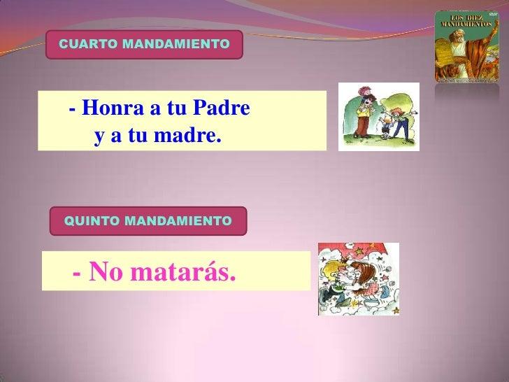 SEXTO  MANDAMIENTO<br />- No cometerás adulterio                    ni otras acciones impuras.<br />SETIMO  MANDAMIENTO<br...