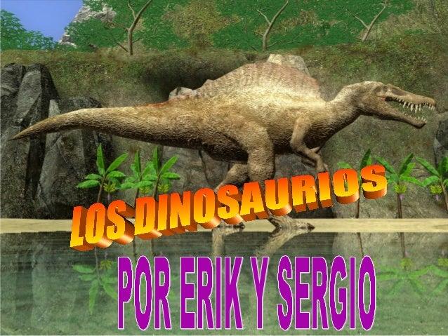INDICE1. Cuando vivieron y como eran.2. Tipos de dinosaurios.3. Qué comían.4. Como desaparecieron.5. Qué son los pale...