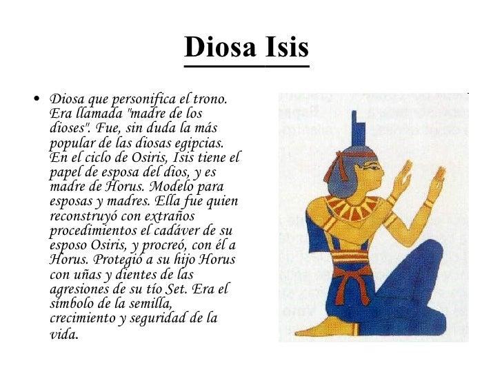 Los Dioses Egipcios