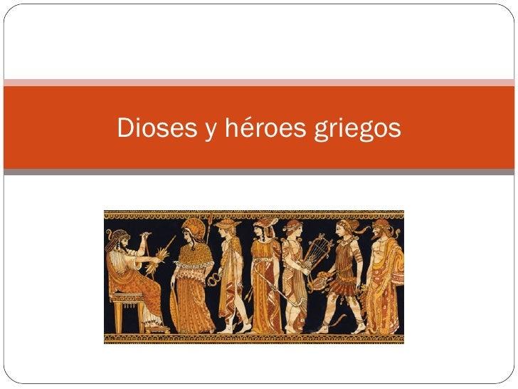 Dioses y héroes griegos