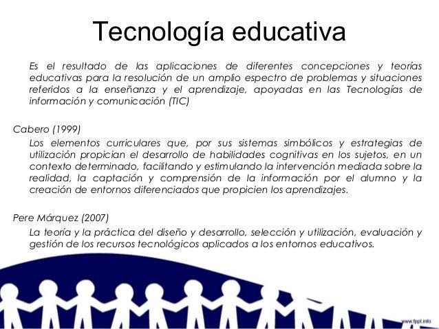 Los dominios de la tecnologia educativa jacqueline rosas Slide 3