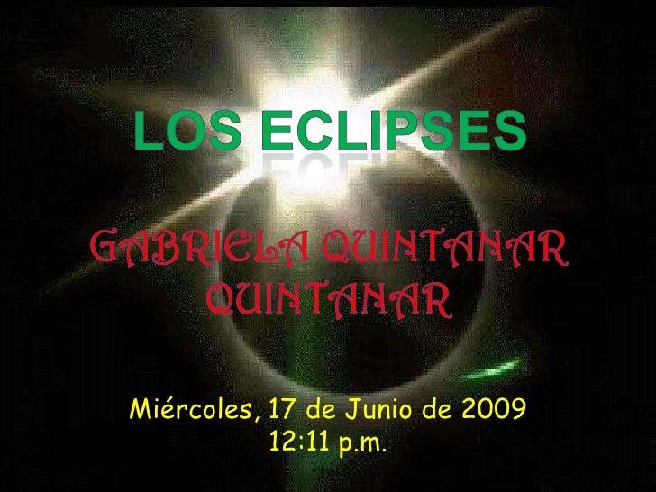 Miércoles, 17 de Junio de 2009            12:11 p.m.