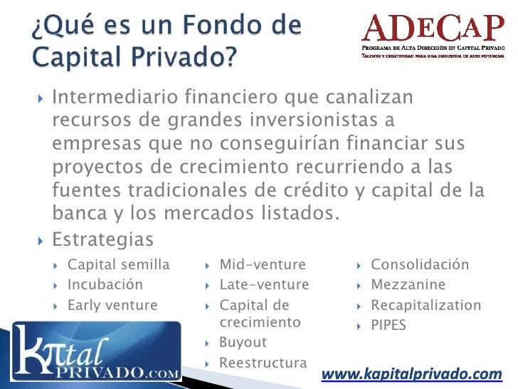 Los Economics De Un Fondo De Capital Privado