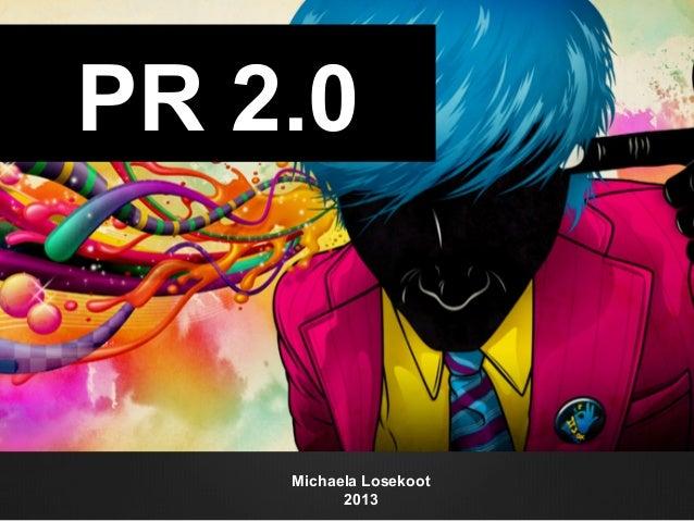 Michaela Losekoot 2013 PR 2.0