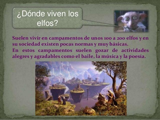 Los elfos - Donde viven los acaros ...
