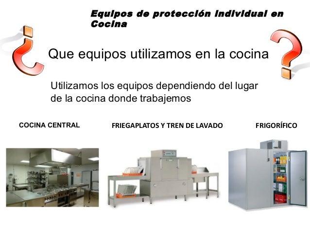 equipos de proteccin individual en cocina