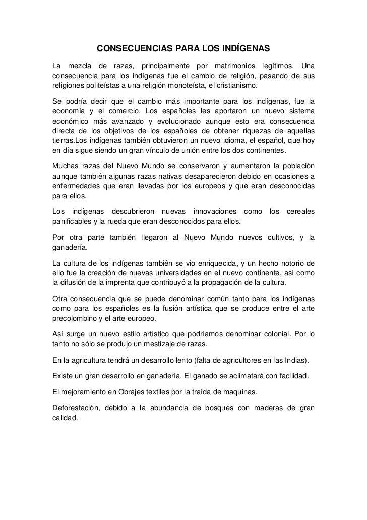 Famosos LA INFLUENCIA DE LOS ESPAÑOLES EN LOS INDIGENAS PI03