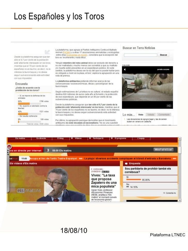 © 2008  F.A.A. All rights reserved 18/08/10 Los Españoles y los Toros