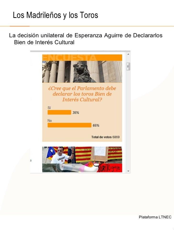 © 2008  F.A.A. All rights reserved Los Madrileños y los Toros La decisión unilateral de Esperanza Aguirre de Declararlos B...