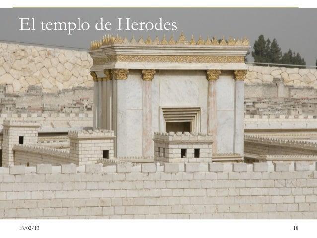 El templo de Herodes18/02/13               18