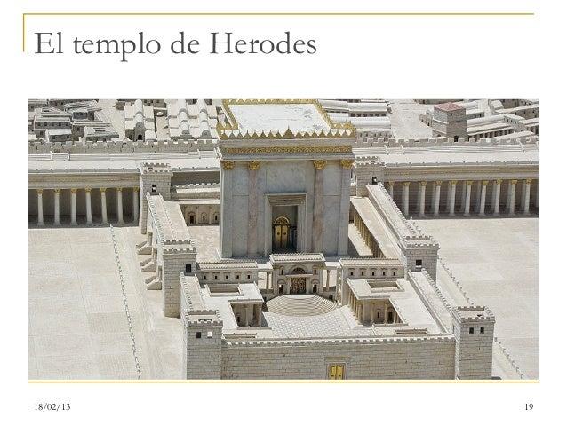 El templo de Herodes18/02/13               19